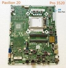 697523-001 per Hp Pavilion 20 Pro 3520 Aio Scheda Madre 703643-001 IPISB-AB Mainboard 100% Testato di Lavoro