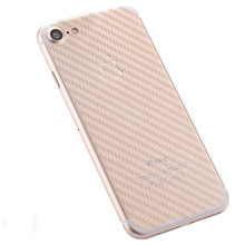 2pcs Rear cover Protector Guard 3D Carbon Fiber Back Cover Protective Film for iPhone 8 7 iPhone 8 7