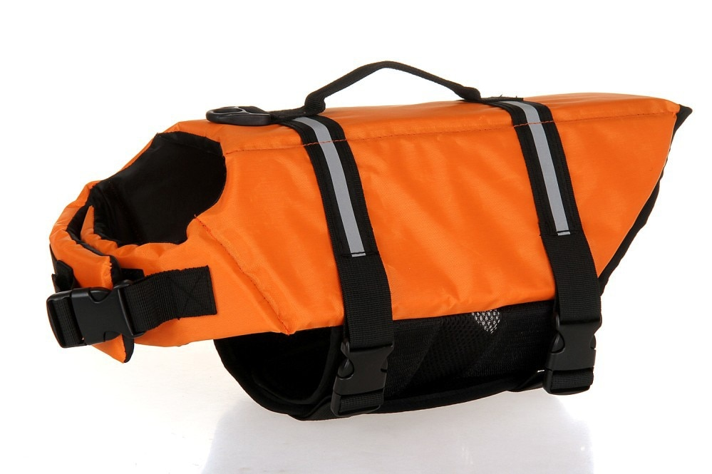 Chaleco salvavidas reflectante para mascotas de varios tamaños, chaleco salvavidas para perros