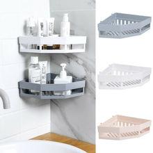 Hot Bathroom Corner Shelves Shampoo Holder Kitchen Storage Rack Mess Shower Organizer Wall Holder Space Saver Household Items