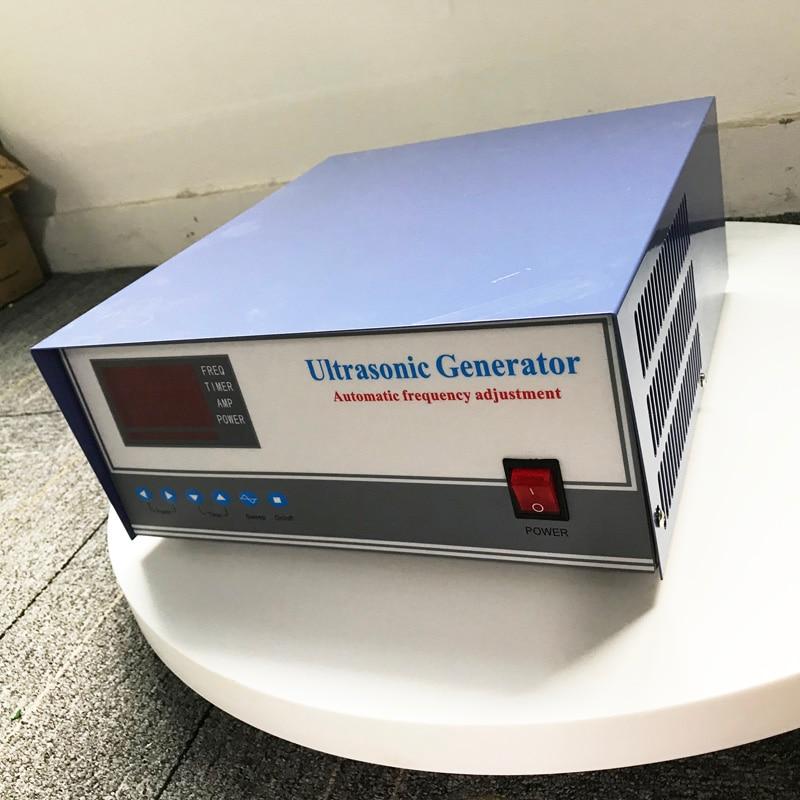 Alta energia ultra-sônica gerador de som de 2000 Watts Gerador de Limpeza Ultra-sônica de Freqüência e potência ajustável