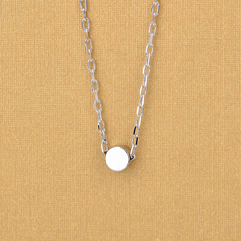 New 925 Sterling Silver Lovely Mini Bean Pendant Necklaces For Women Fashion Jewelry Gifts gnx0495 2015 new horizontal sideways cross women pendant necklace fashion 925 sterling silver necklaces for women