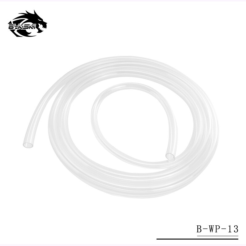 Bykski 10mm de diámetro interior + 16mm de diámetro exterior tubo flexible/tubo de silicona PU/tubos de manguera de agua transparentes 1 Meter/pcs