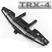110 rc crawler model car metal rear bumper assembly for 110 scale traxxas trx4 remote control toys truck chassis