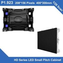 Petit pas de LED de la série tipi HD P1.923 Cabinet moulé sous pression dintérieur 400mm * 300mm * 90mm 1/26 réunion de moniteur de écran LED de mur vidéo de balayage