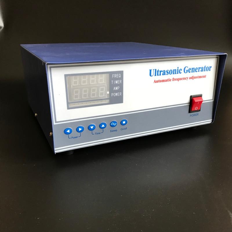 ultrasonic generator 1800W 220V 17khz/20khz/25khz/28khz/30khz/33khz/40khz for Ultrasonic pulse