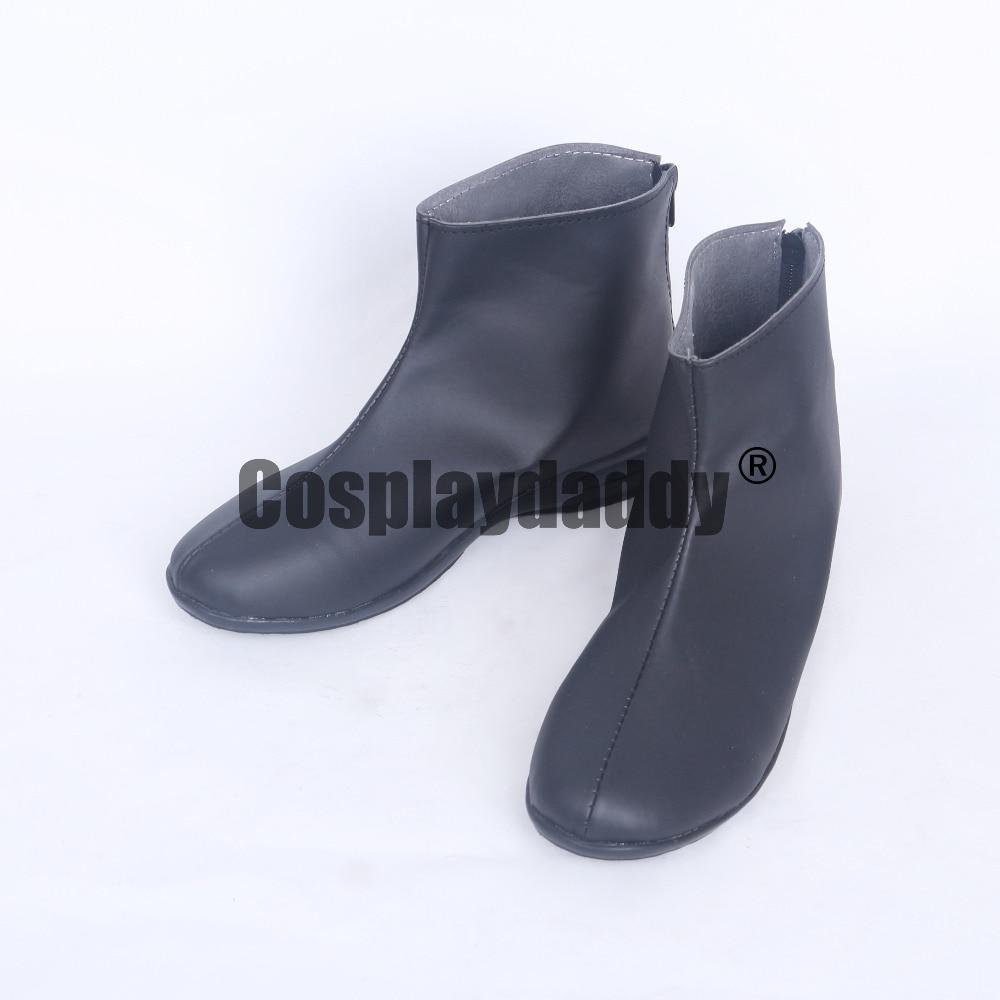 Tokyo Ghoul Ken Kaneki corto negro Cosplay zapatos botas S008