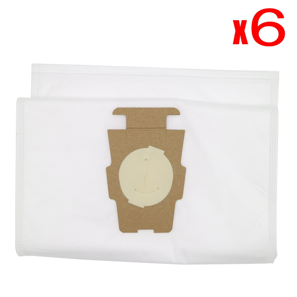 6Pcs Dust bag Universal Bag suitable for Kirby Universal Hepa Cloth Microfiber dust Bags for KIRBY Sentrial F/T G10 G10E