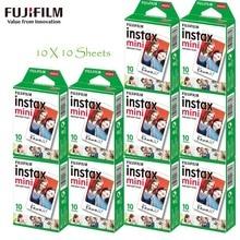 10-100 feuilles Fujifilm Fuji Instax Mini 9 Film papier Photo blanc pour Mini 9 7s 8 90 25 70 partager Liplay SP-1 SP-2 appareil Photo instantané