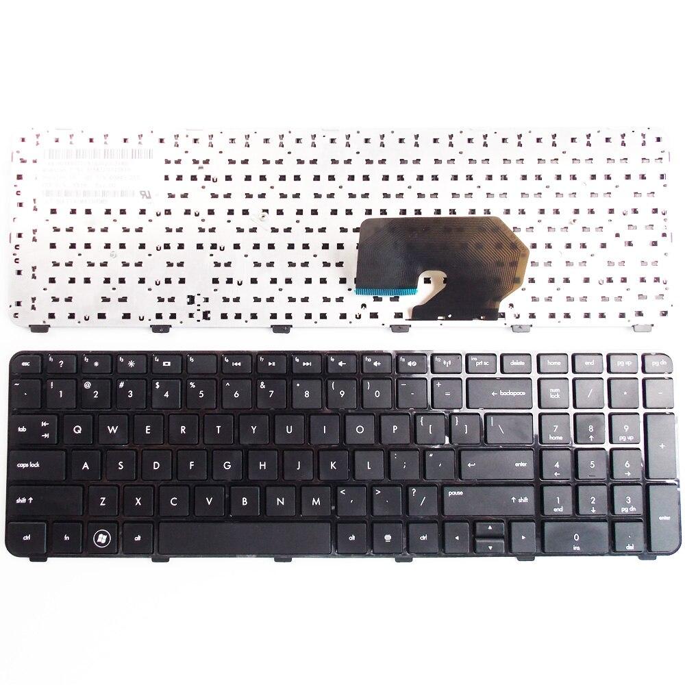 محمول الولايات الإنجليزية النسخة لوحة المفاتيح ل HP جناح DV7-6C01 DV7-6C09 DV7-6C43 DV7-6CXX ، DV7-6113CL QE360UA ، DV7-6B57NR A1T85UA