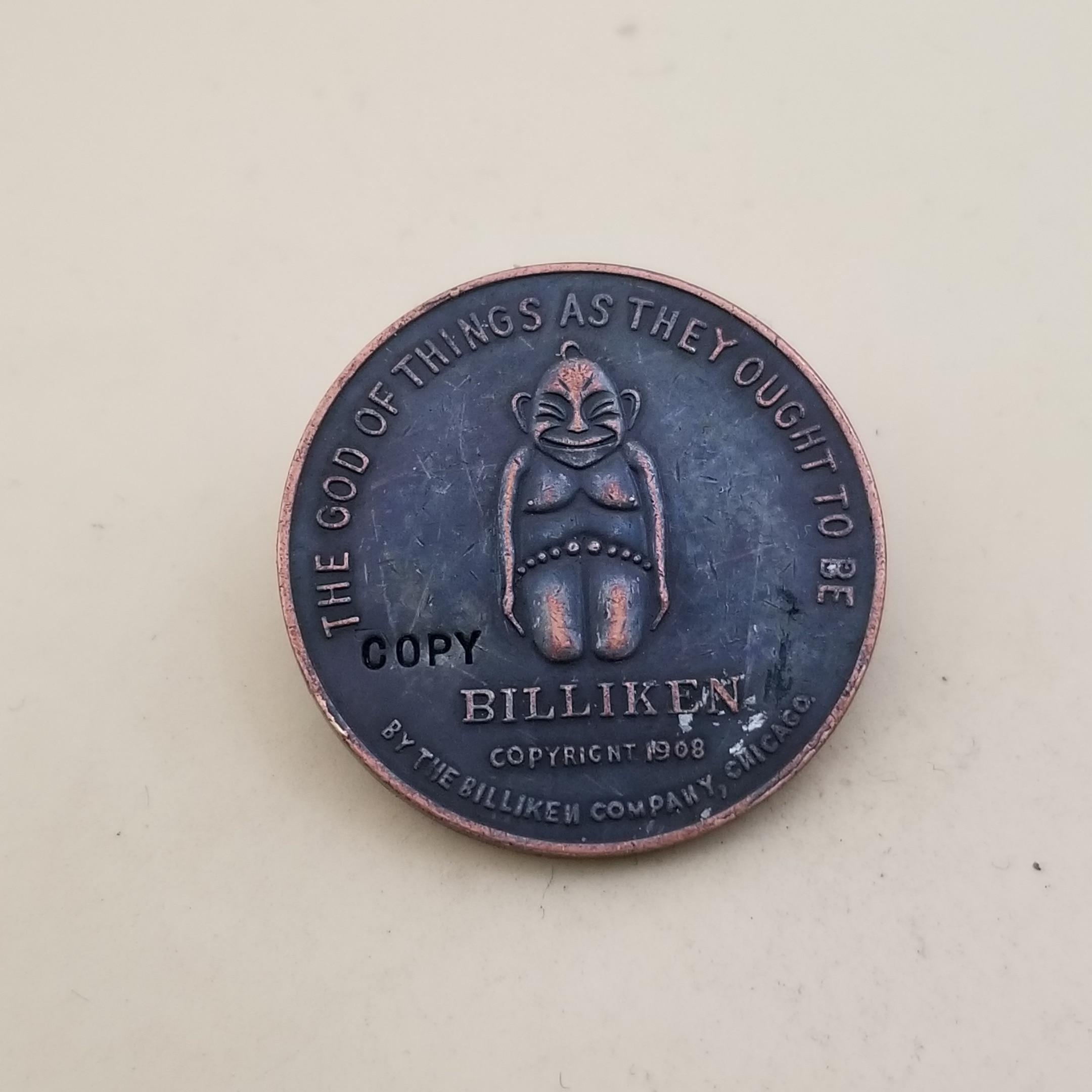 (Соединенные Штаты-рекламные Жетоны) Billiken жетон на удачу памятные монеты копии монет медаль-Реплика коллекционные монеты