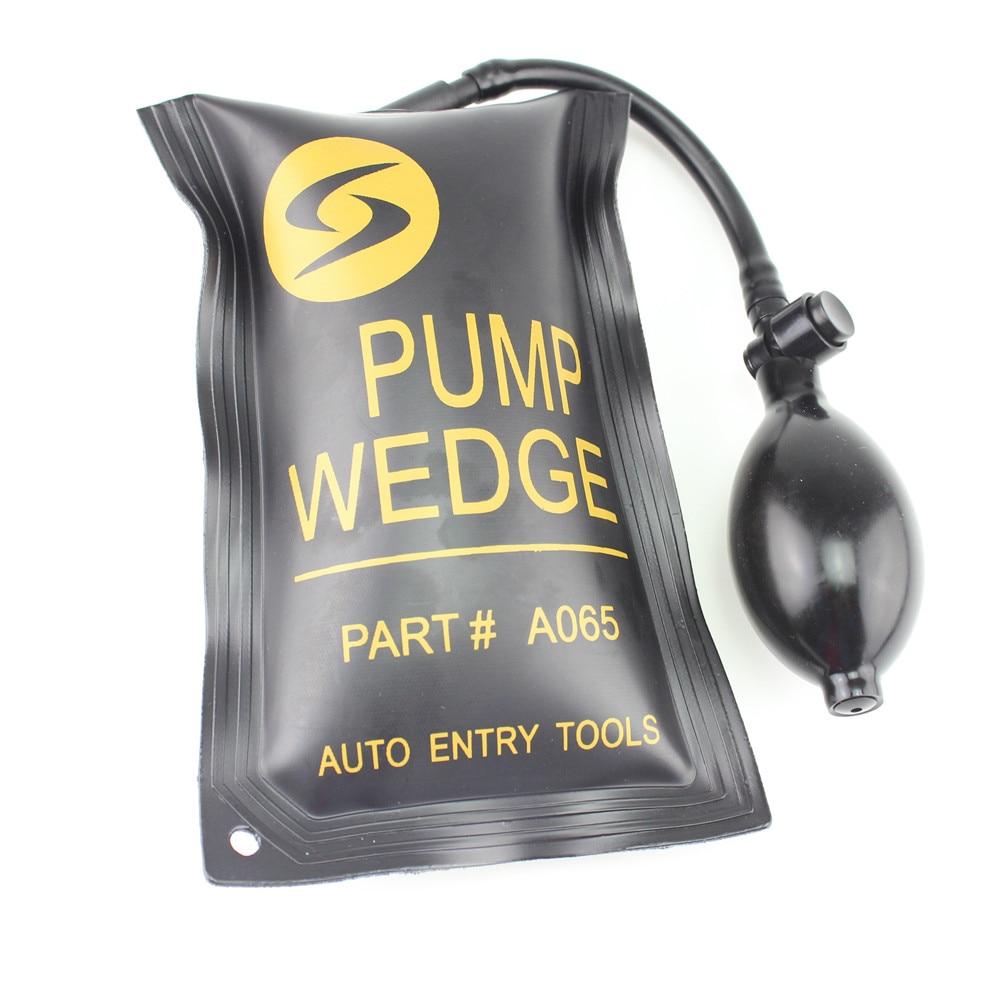 Auto schützen die farbe werkzeuge PUMPE KEIL Airbag Universal Air Wedge SCHLOSSER TOOLS Verschluss-auswahl Gesetzt. Türschloss Openenterpr kleine größe