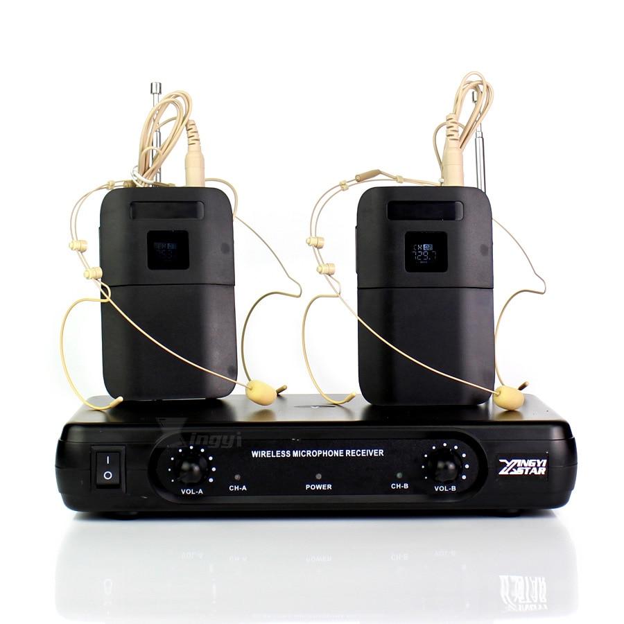 Micrófono inalámbrico para Karaoke, receptor inalámbrico BLX1 con doble gancho para la...