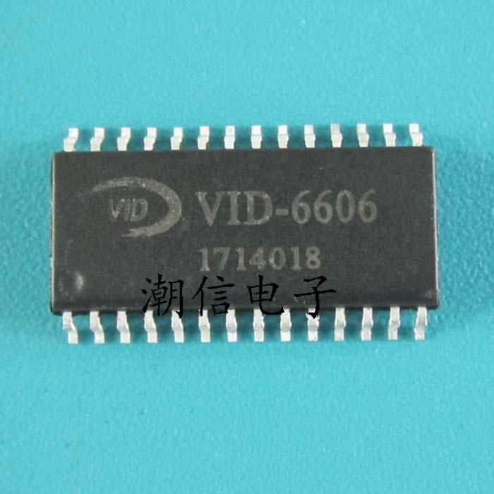 1 шт./лот VID-6606 VID6606 STI-6606 STI6606 6606 лапками углублением SOP-28 в наличии