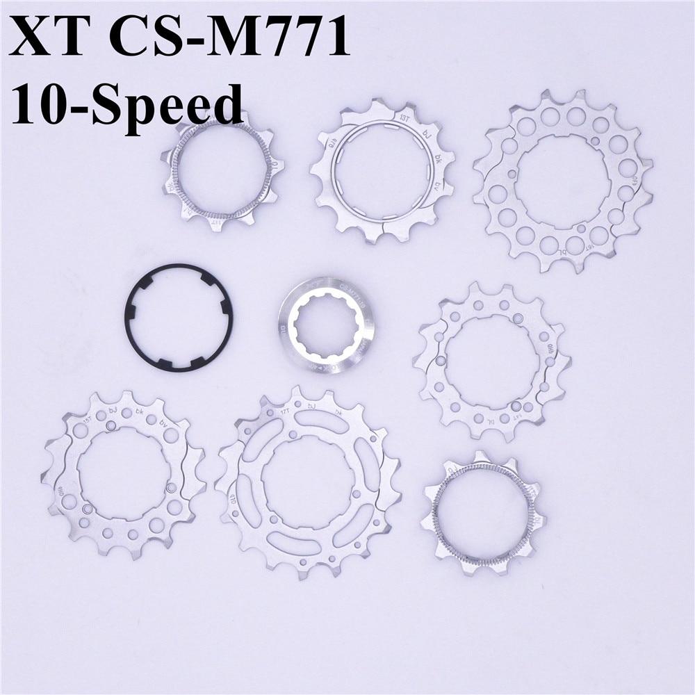 SHIMANO XT CS-M771 10 velocidades Cassette Cog rueda dentada unidad 11/12/13/14T CS-M771