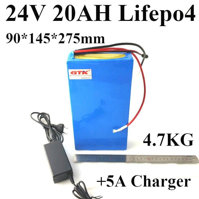 24 V 20AH Lifepo4 batería 24 V 700 W Lifepo4 bateria para 24 V designado coche silla de ruedas eléctrica Robot LED de bicicleta de coche modificado
