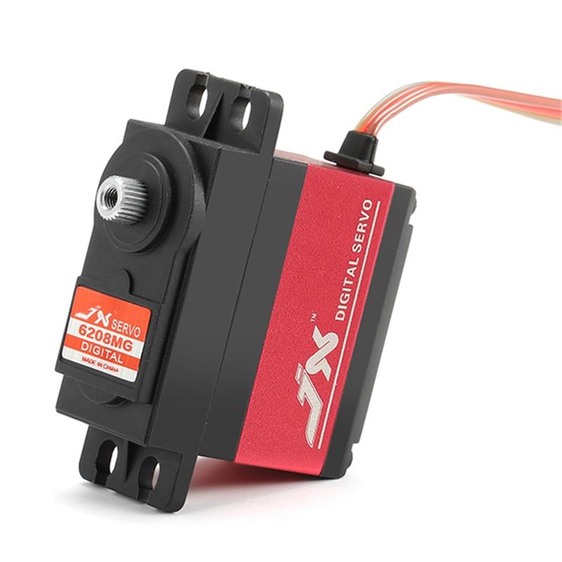 Новое поступление, JX Servo PDI-6208MG, 8 кг, Servo 120 градусов, высокая точность, металлическая передача, цифровой стандартный сервопривод