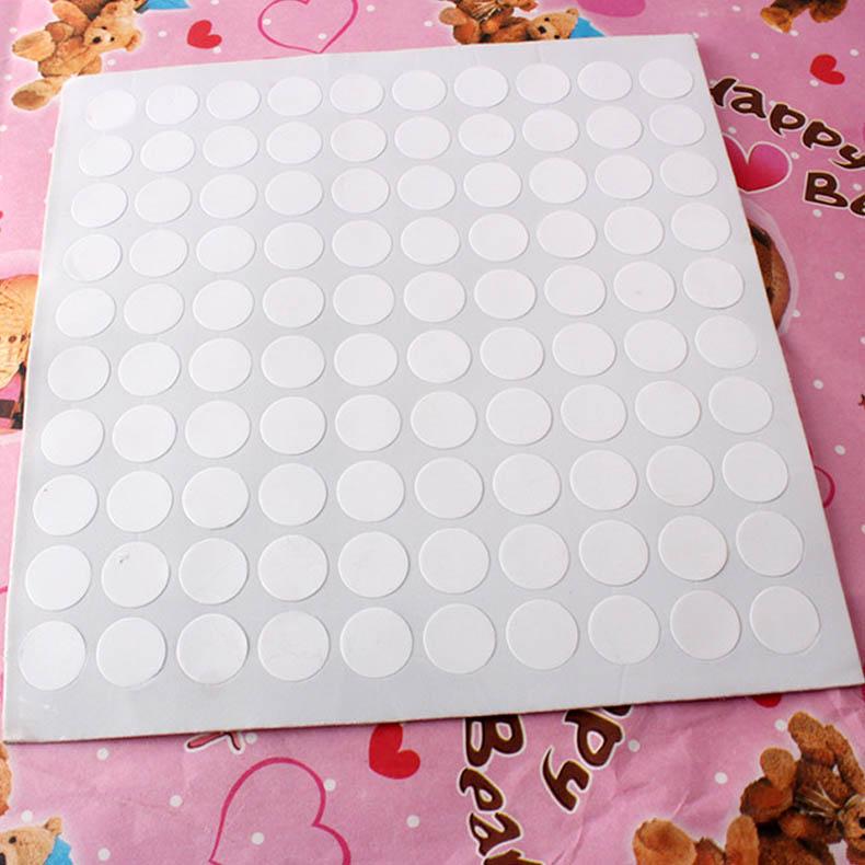 Adhesivos redondos para sujetar globos en el techo o globo para pared, decoración para fiestas de cumpleaños y bodas, 100 puntos