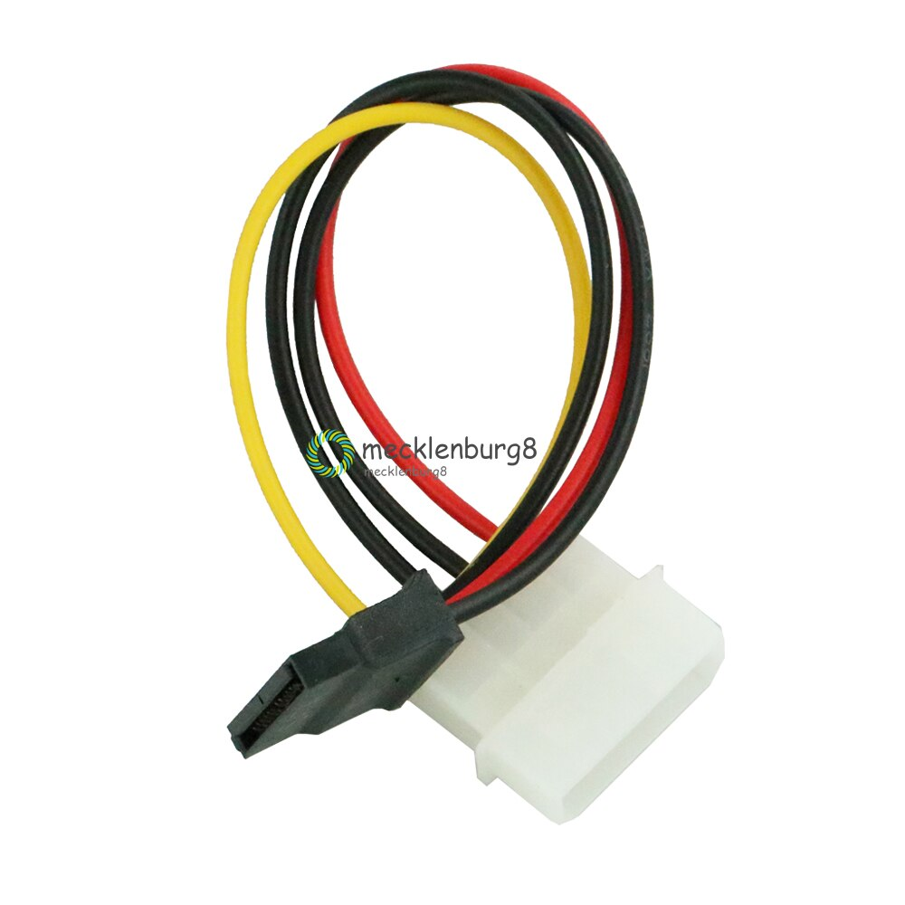 2 unids/lote 4 Pin IDE Molex macho a 15 Pin Serial ATA SATA Disco Duro adaptador de corriente