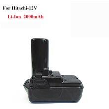 Marke neue elektrowerkzeug ersatz-akku 2000 mAh 12 V Li-Ion für Hitachi BCL1015S, 331065, UC10SFL, WH10DCL, DS10DL, GP10DL