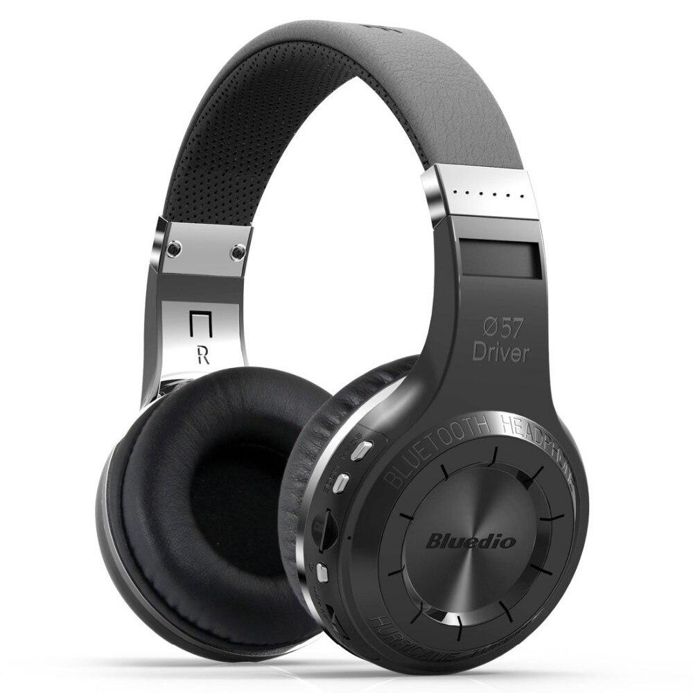 Bluedio auriculares bluetooth v5.0H + Bluetooth Estéreo auriculares inalámbricos micrófono integrado micro-sd/FM Radio auriculares Over-ear