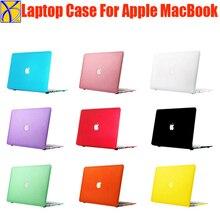 Custodia rigida opaca in cristallo iCasiber per Apple mac book Air Pro Retina 11 12 13 15 borsa per Laptop per Macbook Air 13 custodia in plastica