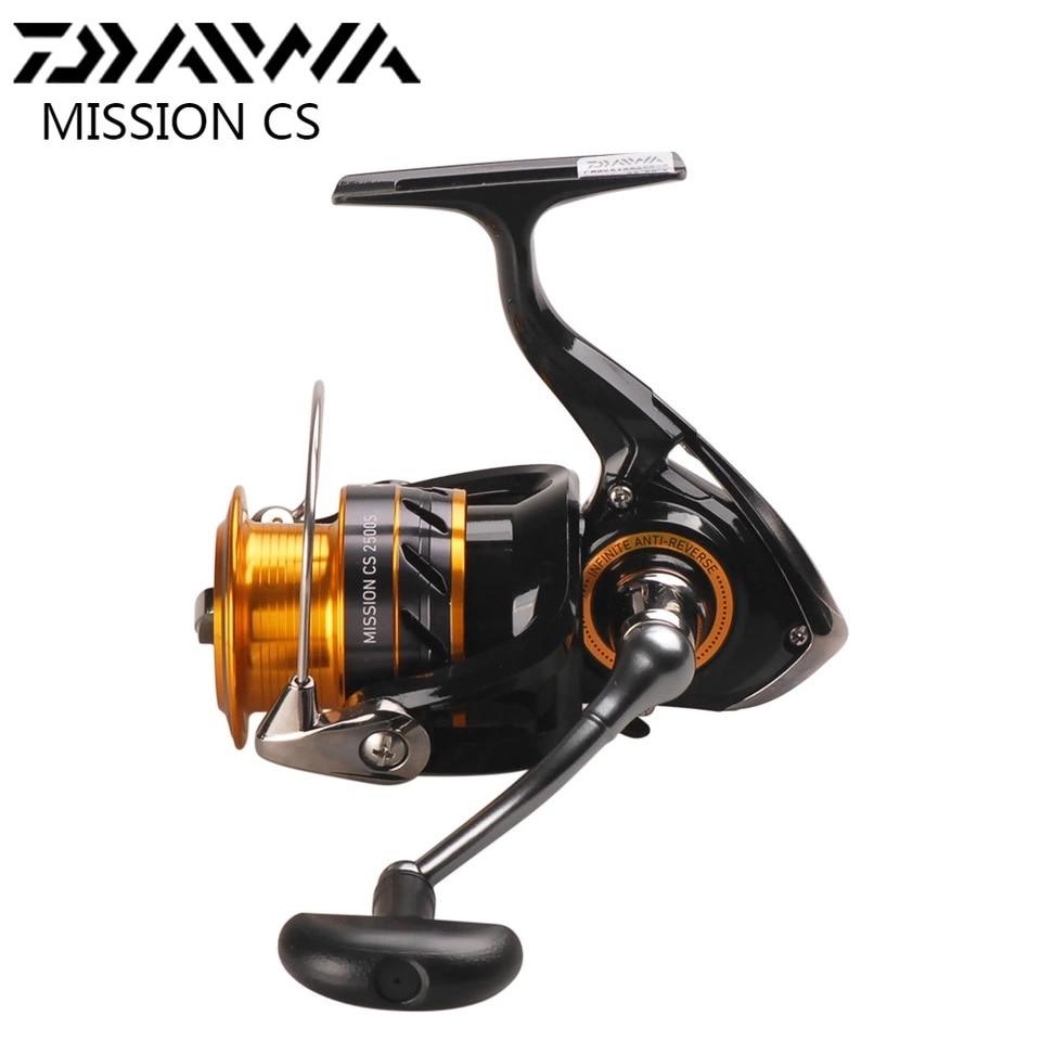 Daiwa missão cs molinete de pesca 2000 2500s 3000s 4000s 5.31 4bb moulinets de peche roda fiação carretilha