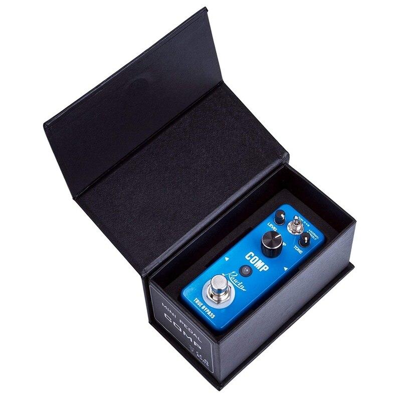 Pedal compresor Rowin, Pedal de efecto Comp para guitarra