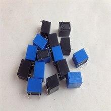 Lot de 50 pièces/lot de 4100 12V DC 6 broches   Miniature PCB relais, flambant neuf