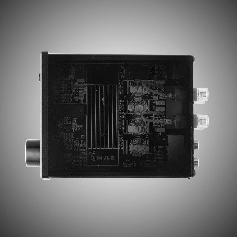 KGUSS HA6 chip TPA3116D2 HIFI stereo desktop small high power digital headphone amplifier enlarge