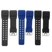 15mm PU suave reloj de pulsera reemplazo de correa banda de G-SHOCK GG-1000 GWG-100 GSG-100