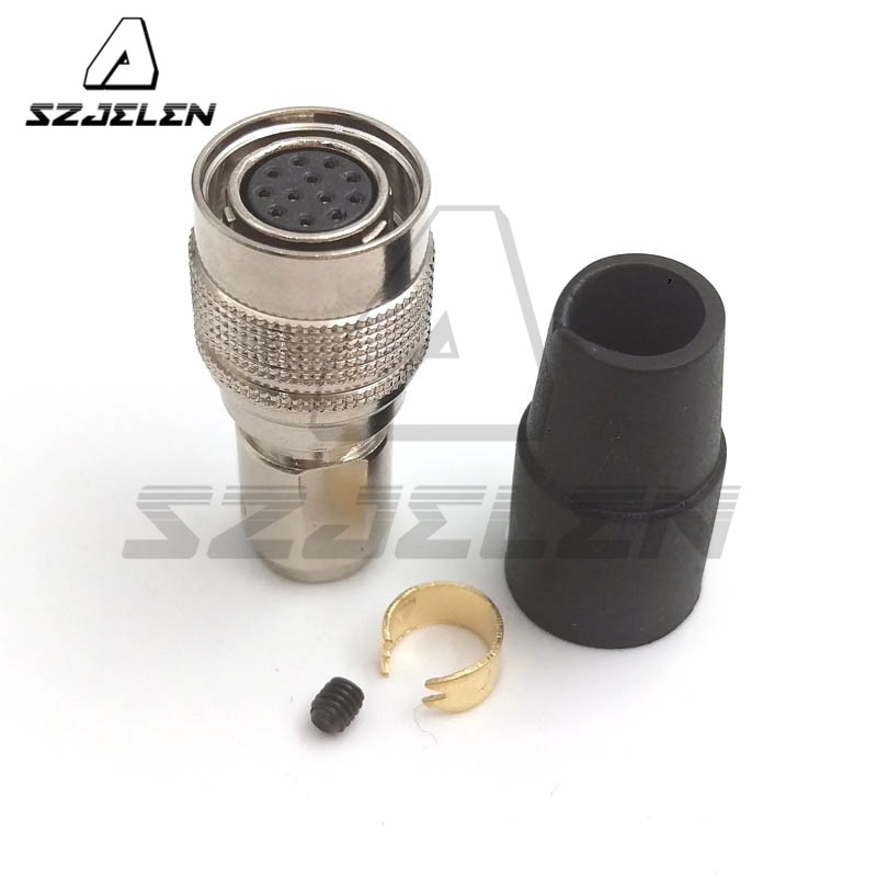Hirose 12 pin разъем, HR10A-10P-12S, оборудование кабель разъем, разъем питания