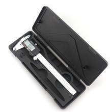 0.01mm précision LCD numérique Vernier pied à coulisse 150mm 6 pouces acier inoxydable micromètre étriers Micrometro Paquimetro
