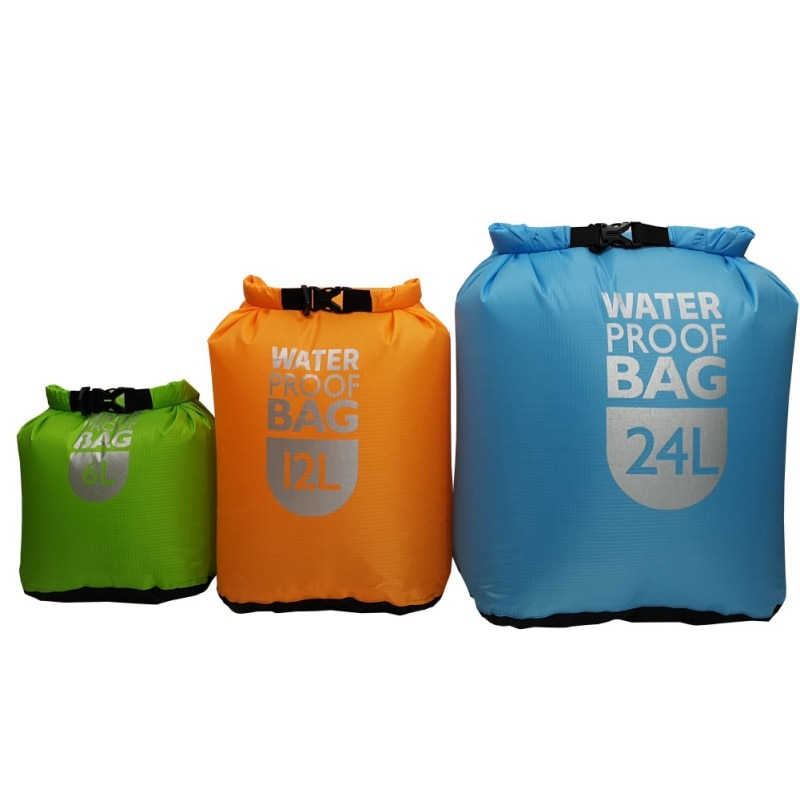 Bolsa seca impermeable para natación, agua flotante seca, paquete de sacos para kayak, Rafting de Río, resistencia a la navegación, senderismo
