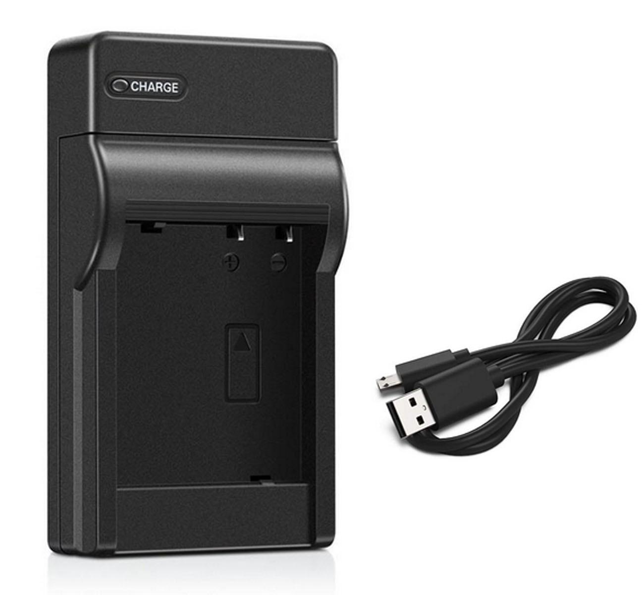 Carregador de bateria para canon dc310, dc320, dc330, dc410, dc420 dvd filmadora