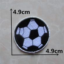 Patchs pour ballon de football 1 pièce   Bonne qualité, accessoires pour vêtements avec appliques et broderies, accessoires de décoration pour Hotfix C212, bon marché