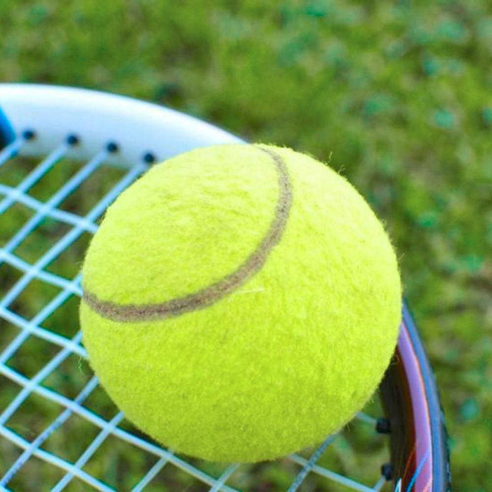 Pelotas de tenis amarillas Torneo Deportivo diversión al aire libre grillo playa perro alta calidad gran oferta