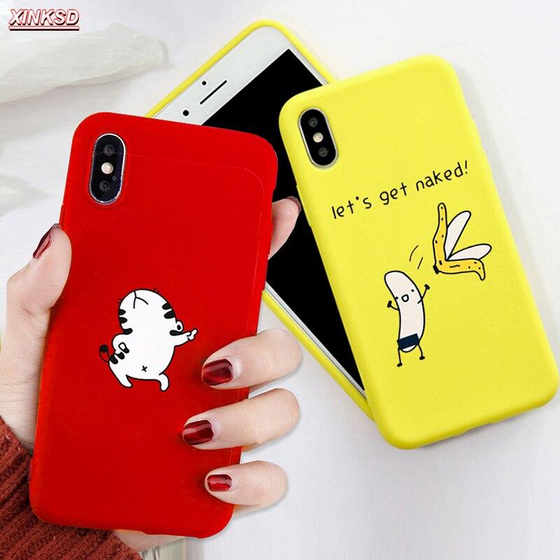 3D relieve funda para iPhone x XR XS Max 6 6s 7 8 Plus 5 5S SE funda moda Linda dibujos animados corazón amor suave TPU Capa negra