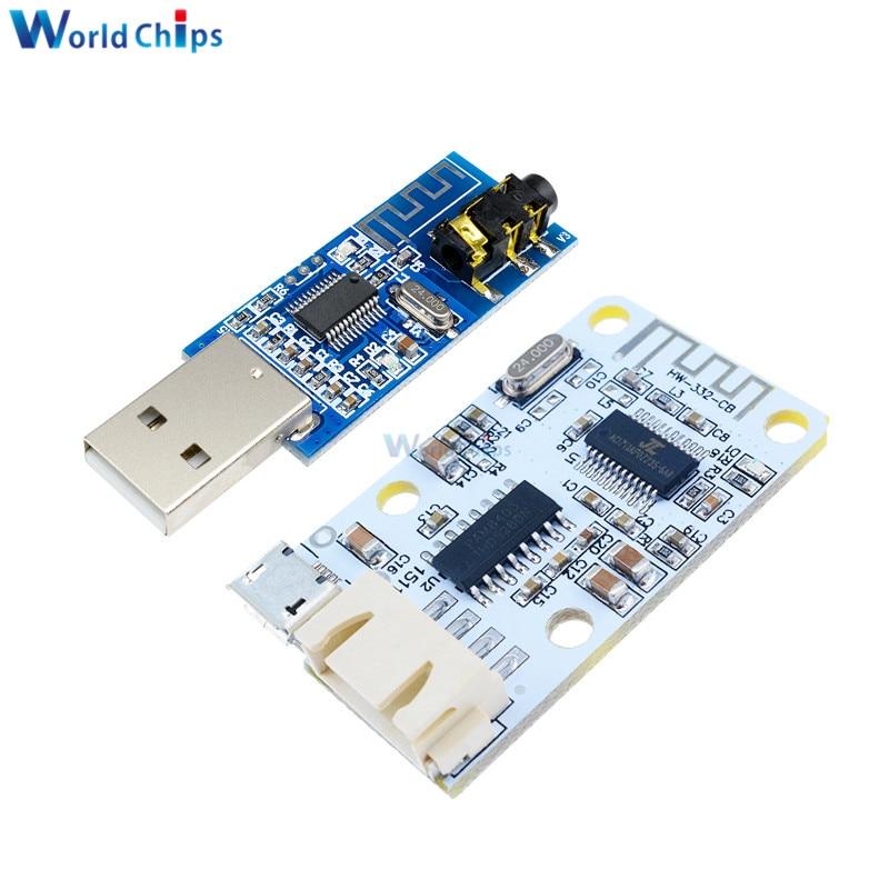 Cc 5V Micro USB de alimentación 3 W + 3 W Bluetooth 4,0 tarjeta receptora de Audio amplificador Digital inalámbrico tarjeta de sonido para Arduino