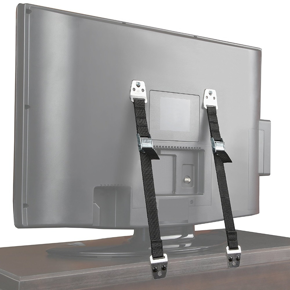 Seguridad para bebés correas antipunta 2 unids/lote para TV plana y muebles correa para pared bloqueo infantil protección contra niños productos para niños