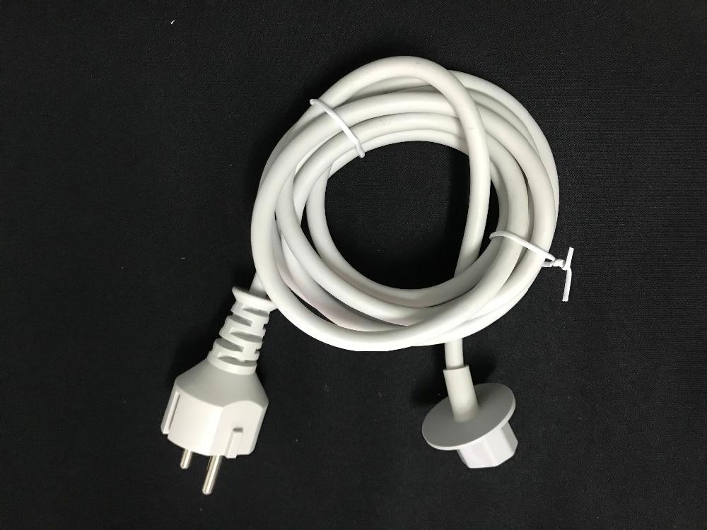"Cable de alimentación WESAPPA A1418 A1419 EU Plug 1,8 M para IMAC ordenador 21,5 ""y 27"" adaptador de cargador Europeo 2012 Late -2018 año"