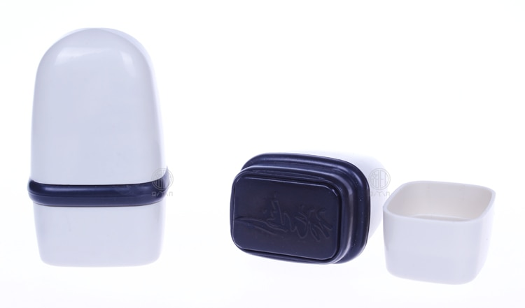 Tampon photosensible personnalisé 3x2cm   Tampon pour Logo de société/mot danniversaire, Scrapbooking/carte/invitation de mariage, tampon dencre de décoration