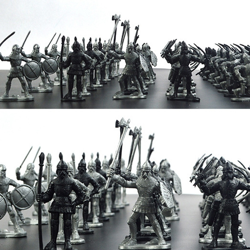 1 144 world war ii aircraft model alloy b 29 bombers of the b29 simulation model of static military decoration model 60pcs/set Medieval Military War Simulation Warriors Ancient Soldier static Military figures Model for Children Gifts