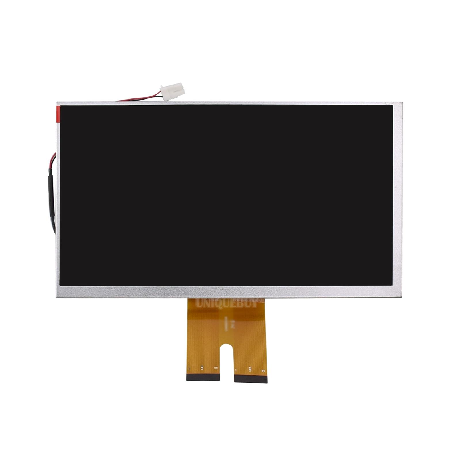 Оригинальный 7-дюймовый автомобильный DVD ЖК-экран Tianma без сенсорного экрана TM070RDH01 Сменный стеклянный монитор