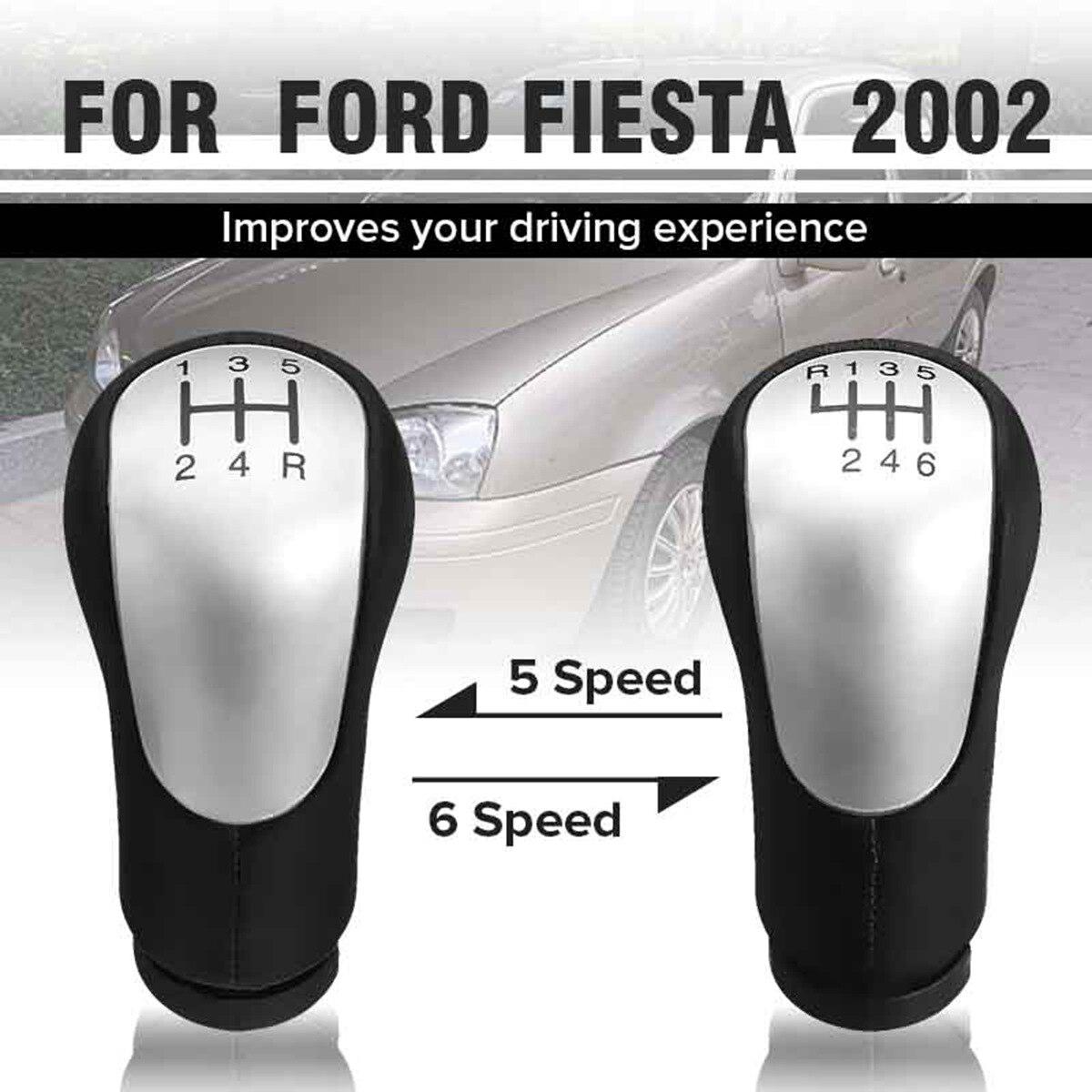 Perilla de palanca de cambios para coche de 5 velocidades y 6 velocidades, palanca de cambios para Ford Fiesta para conexión Fusion/Transit 2002