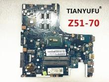 AIWZ0 Z1 LA-C281P para Lenovo Z51-70 placa base de computadora portátil DDR3L SR23W I7-5500U CPU R7 M360 DDR3L placa base prueba 100% trabajo
