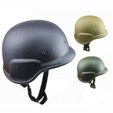 Sólido M88 de plástico ABS de camuflaje casco tácticas CS militar ejército de campo motos de la motocicleta cascos CS al aire libre Protección deportiva