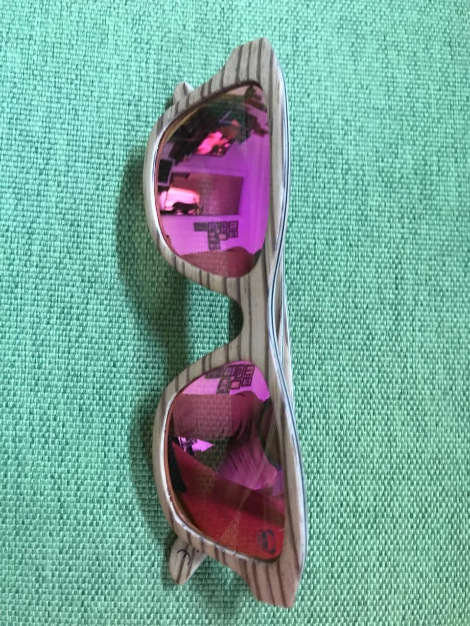 Gafas de sol de madera EZREAL polarizadas K2200 Dropshipping link