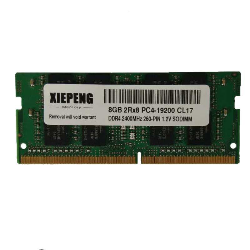 دفتر رام 8GB 2Rx8 PC4-19200S DDR4 16gb 2400T الذاكرة لديل انسبايرون 5568 5575 5576 7566 7567 7577 5577 5579 5765 محمول