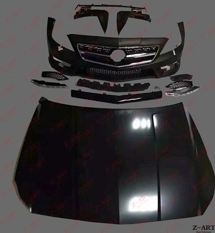 Z-ART CLS63 kit de carrocería para Benz W218 CLS63 AMG kit de carrocería para Benz CLS clase 2011-2017 CLS 63 AMG